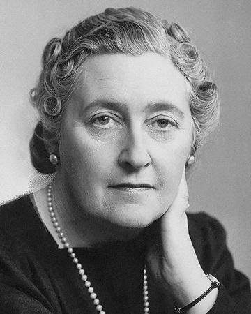 Novelista Agatha Christie