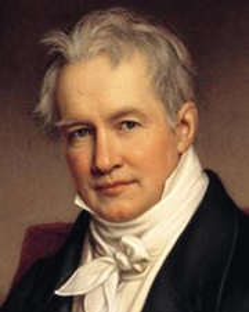 Naturalista y geógrafo Alexander von Humboldt