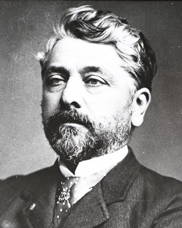 Ingeniero civil francés Gustave Eiffel
