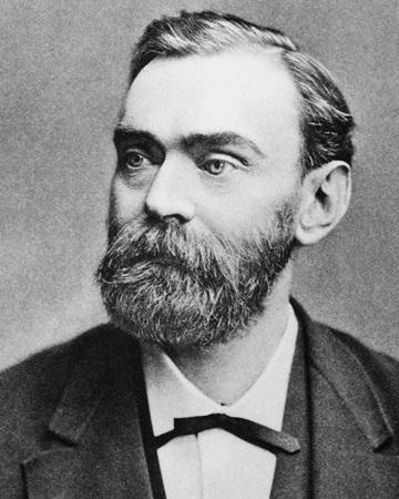 Inventor y fundador del premio Nobel Alfred Bernhard Nobel