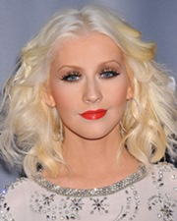 Cantante Christina Aguilera