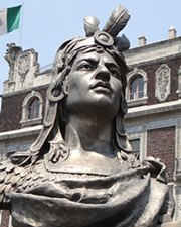 Ultimo emperador azteca Cuauhtémoc