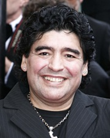 Futbolista Diego Maradona