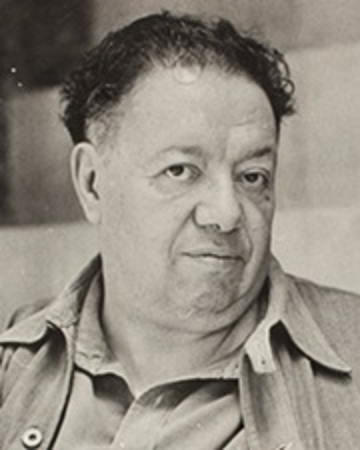 Pintor, muralista Diego Rivera