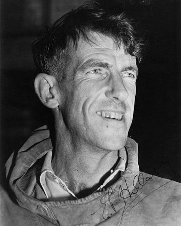 Alpinista y explorador  Edmund Hillary