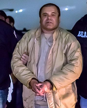 Narcotraficante Joaquín El Chapo Guzmán