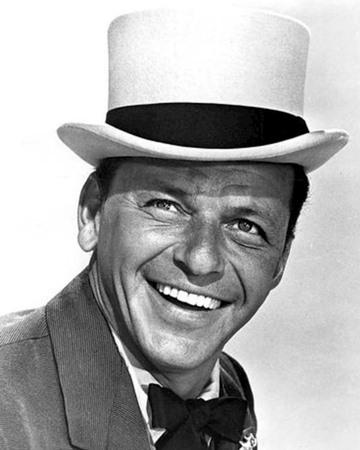Actor y cantante. Frank Sinatra