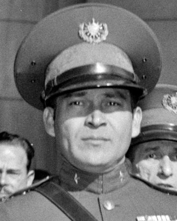 Presidente y dictador cubano Fulgencio Batista