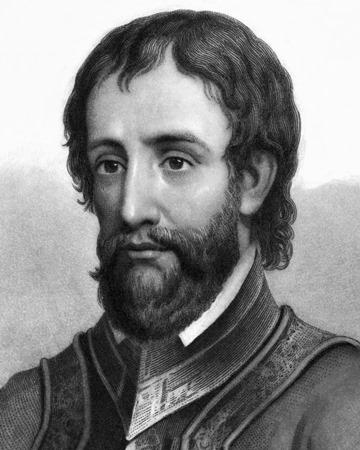 Conquistador y explorador Hernando de Soto