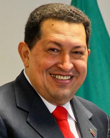 Político, militar y presidente Venezolano Hugo Chávez