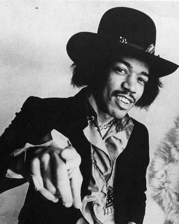 Rock Guitarist Jimi Hendrix