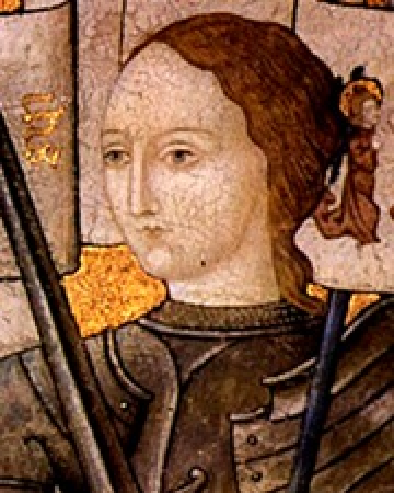 Heroína, militar y santa francesa Juana de Arco