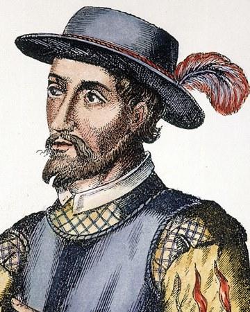 Conquistador y explorador Juan Ponce de León
