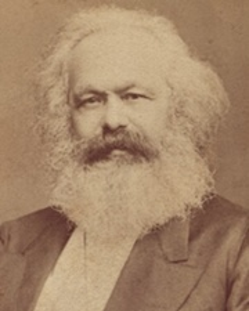 Filósofo comunista Karl Marx