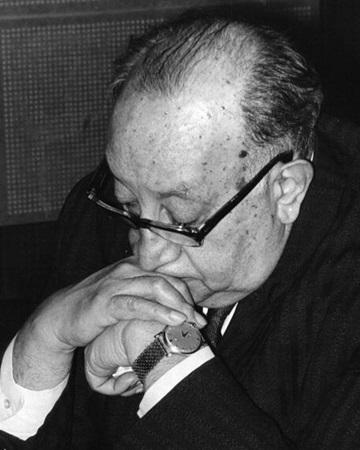 Escritor, periodista y diplomático guatemalteco Miguel Ángel Asturias