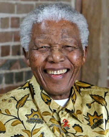 Activista Anti-apartheid y ex presidente sudafricano Nelson Mandela