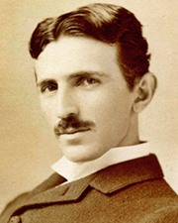 Ingeniero eléctrico e inventor Nikola Tesla