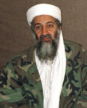 Terrorista y militante islámico  Osama bin Laden