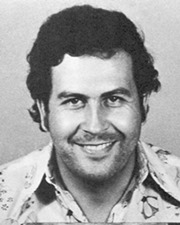 Narcotraficante colombiano Pablo Escobar