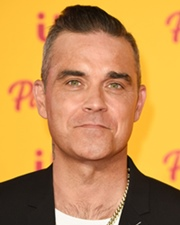 Cantante Robbie Williams
