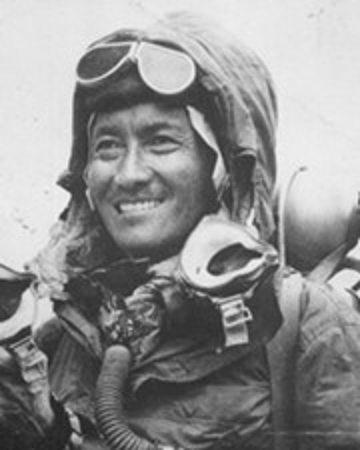 Alpinista y explorador Tenzing Norgay